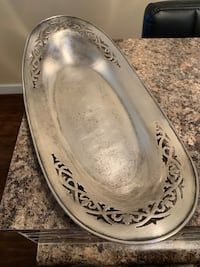 Vintage silver tray Greenfield, 53228