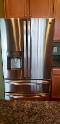 stainless steel french door refrigerator Clinton, 20735