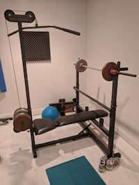Bodysmith weight bench with pulley  Gainesville, 20155