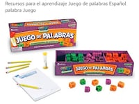 Learning game in Spanish