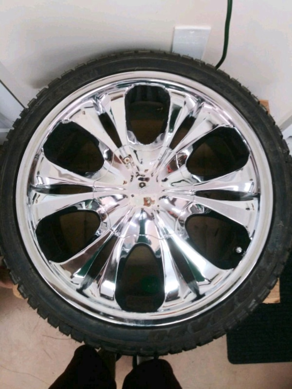 18 Inch Tires >> 18 Inch Chrome Rims Tires
