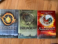 The Divergent Trilogy by Veronica Roth Hardcover  Herndon