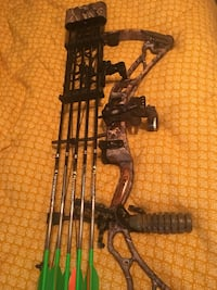 Elite 32. 29/60. Great shape comes with arrows, quiver, site, stabilizer.  Right handed Alexandria, 71303