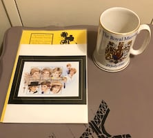 Princess Diana Stamp & Royal Marriage Official Mug