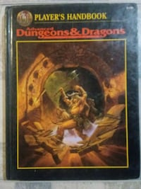 Advanced Dungeons and Dragons Player's Handbook Holbrook, 02343