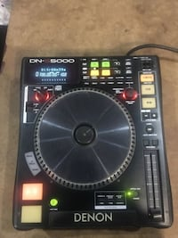 black and gray DJ turn table New York, 10451