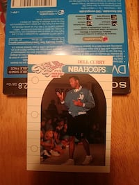 Autographed Dell Curry 1990 Everett, 98201