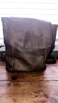 Brand new backpack purse Gray, 70359