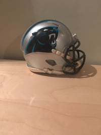 Carolina Panthers football helmet Kitchener