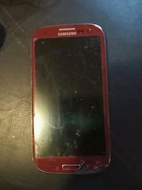 red Samsung Galaxy Android smartphone Sanford, 04073