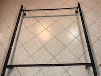 Metal Adjustable Bed Frame fits double up to Queen. Serious inquiry only please Richmond Hill, L4C 8G5