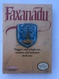 Faxanadu (Nintendo NES) NEW SEALED H-SEAM, NEAR-MINT, RARE RPG! Washington, 20018