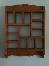 brown wooden wall mounted rack St Catharines, L2S 3T7