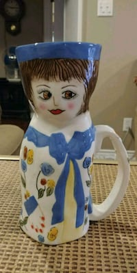 Collectable Mug, Doris Decaf by Susan Paley Brampton, L6X 3L3