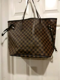 brown and black Louis Vuitton monogram tote bag Monrovia, 91016