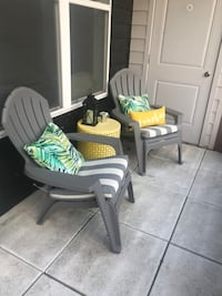 Patio furniture - table and chairs