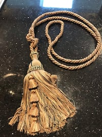 "Large Decorative Tassels Qty 8 - 54"" total length  Chantilly, 20152"