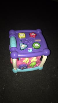 Vtech girls baby toy cube, works great no marks. Anaheim, 92804