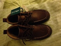 Pair of brown leather shoes Thom mcan memo tech brand new size US 8 or EU 41 246 km