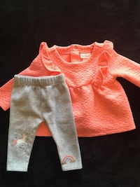 Cat & Jack newborn long sleeve with matching pants baby outfit Bakersfield, 93308