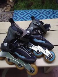 Pair of K2 roller blades/ inline skates Condition: excellent, only worn a couple of times Size: size 5 Mississauga, L5J 1V6