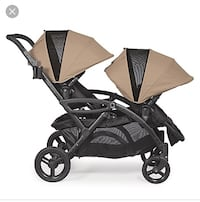 Double stroller by contours options elite also comes with the car seat attachment for an infant Toronto, M1S 1V9
