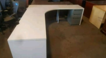 L shaped desk 7 x 8 flexible sizes