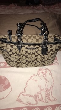 Coach Monogram Canvas Bag Glen Burnie, 21061
