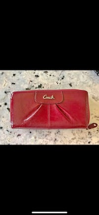 Coach Accordion Zip Wallet Danbury