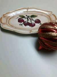 Hand painted platter 15 inches