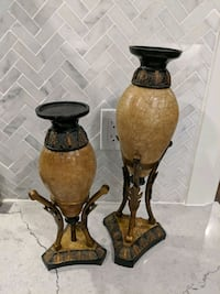 Set of candle holders Mississauga, L5N 5X4