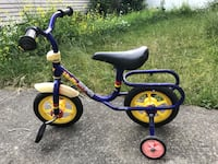Bike for 3-5 years old toddler Vancouver, V6P 4E5