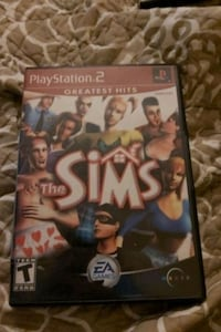 The sims 1 PS2