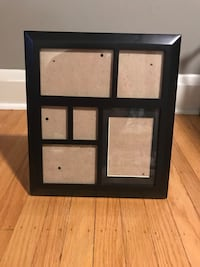 Black collage picture frame, 6 openings Baltimore, 21214