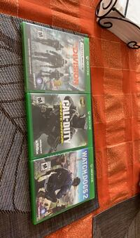 3 Xbox One games Vaughan, L6A 3C2