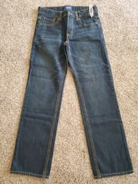 New Boys Jean's Size 12 Adjustable Waist OLD NAVY