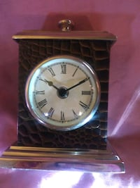 Twos company table clock