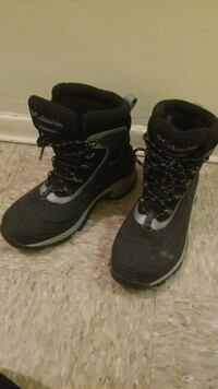 pair of black-and-gray Nike basketball shoes Toronto, M3J 1P9
