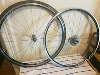 two black and gray bicycle wheels Denver, 80210