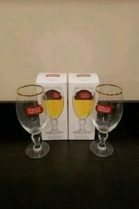 4 stella artois glasses - pickup north end