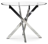 Dining table 4person , glass top Vancouver, V6J