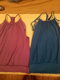 Lululemon tanks with built in sports bra New Rochelle, 10805