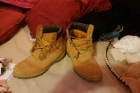 Timberland (mens)  brown leather work boots Cartersville, 30120