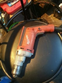 red and black Milwaukee cordless hand drill Surrey, V3W 6E1