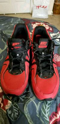 Nike Black & Red Shoes Fort Meade, 20755
