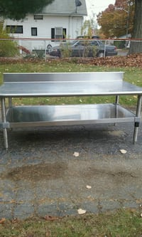 Table  stainless steel 5 feet long 24 inches  tall and 30 inches  deep East Providence, 02915