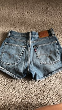 Levi's shorts high waist size 25 3133 km