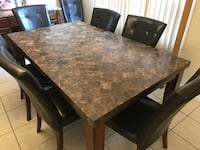 Granite dining set 6 Vaughan, L4K 5K6