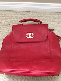 red leather 2-way bag Calgary, T3K 0L4