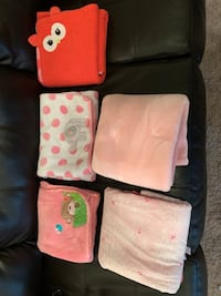 Baby blankets....If its posted, its still available. Belton, 76513